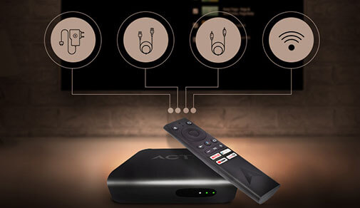 Beginner's Guide: How To Operate The ACT Stream TV 4K