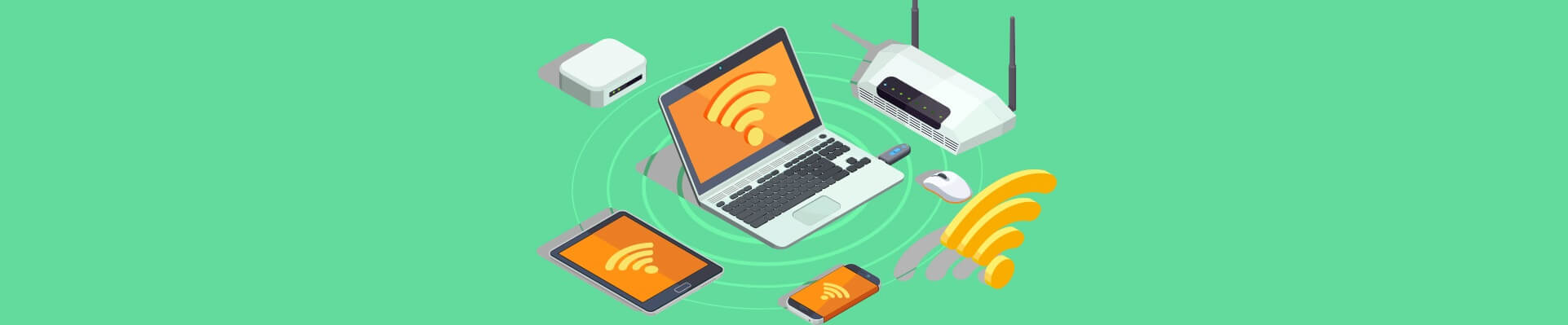 5 SOLUTIONS TO AVOID SLOW WI-FI SPEEDS