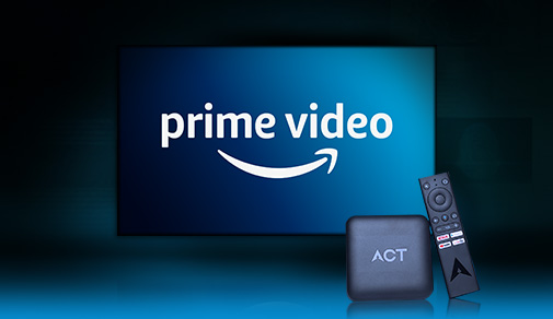 Amazon Prime Video Partners With ACT Stream TV
