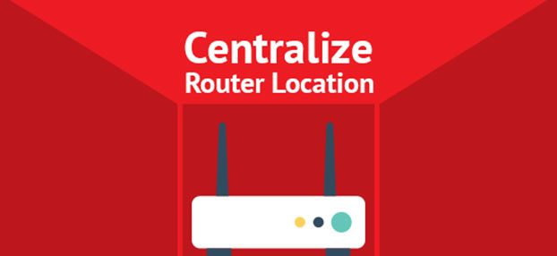 Router to be placed in center